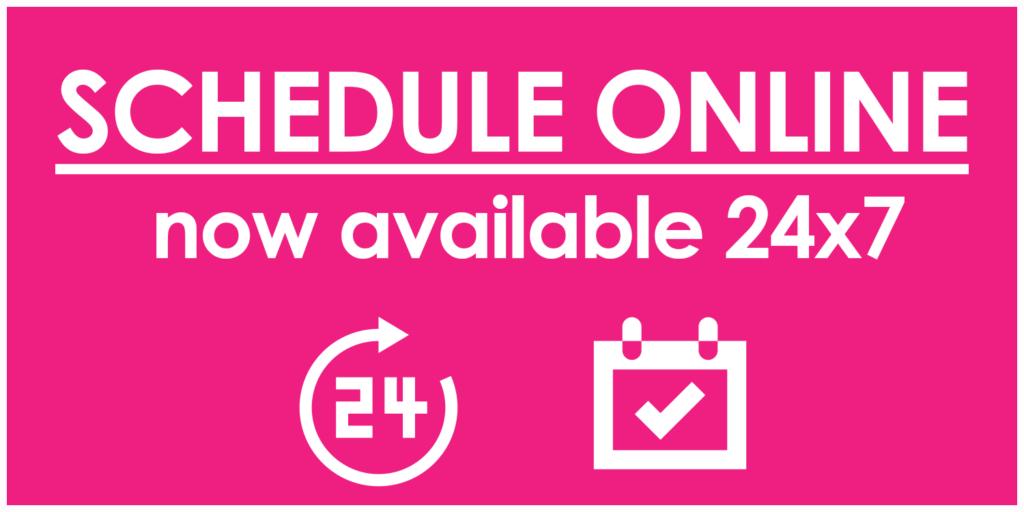 Instantly Schedule Online 24x7